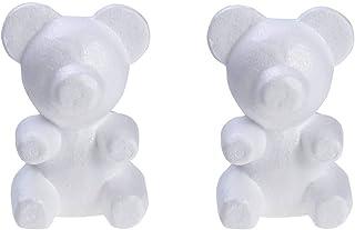 15 cm Color Blanco Abilieauty d/ía de San Valent/ín Molde de Espuma de poliestireno de poliestireno