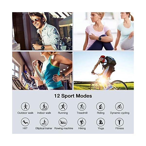 UMIDIGI Uwatch GT Smartwatch Hombre Reloj Inteligente 5ATM Impermeable con Cronómetro Pulsera Actividad de Fitness con… 3