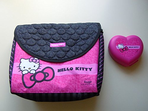 Tupperware Hello Kitty Insulated Lunch-Tasche mit gratis Hello Kitty Hertz dose