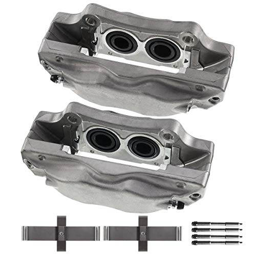 A-Premium Brake Caliper Assembly Compatible with Acura TL 2004-2008 Front Side 2-PC Set