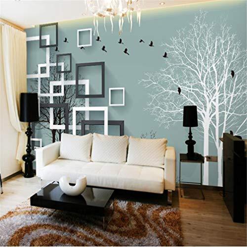 3D fotobehang 363D vlies groot behang Mediterrane gepersonaliseerde moderne decoratie beweegbaar vlies compact zonder naden grote grootte TV achtergrond woonkamer 120*100cm