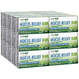 HealthA2Z Mucus Relief DM, Dextromethorphan HBr 20mg Guaifenesin 400mg, 24 Packs of 10 Caplets(240 Caplets Total), Value Package