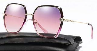 7d1be26c33 SWIMMM Gafas de Sol polarizadas Mujer Hombre Marca Vintage Gafas de Sol  (Color : Rosado