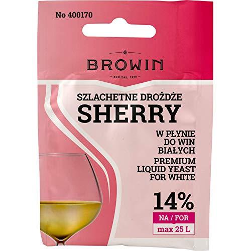 Wein Flüssighefe – Sherry 20ml | BROWIN | Weinhefe | Hefekultur | Wein-hefe | Heferasse