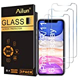 Ailun Glass Screen Protector for iPhone 11/iPhone XR, 6.1 Inch 3 Pack Tempered Glass 2.5D Edge Anti Scratch Work with Most Case