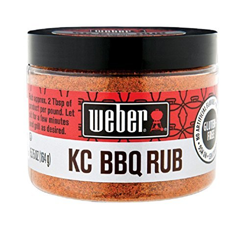 Weber Kansas City KC BBQ Rub 5.75 oz (Pack of 3)
