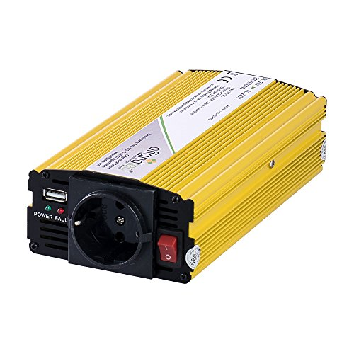 Offgridtec® HF24-300 300W 600W 24V 230V Spannungswandler modifizierter Sinus