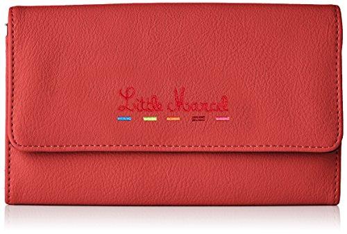 Little Marcel femme Id18-lm-red Portefeuilles Rouge...