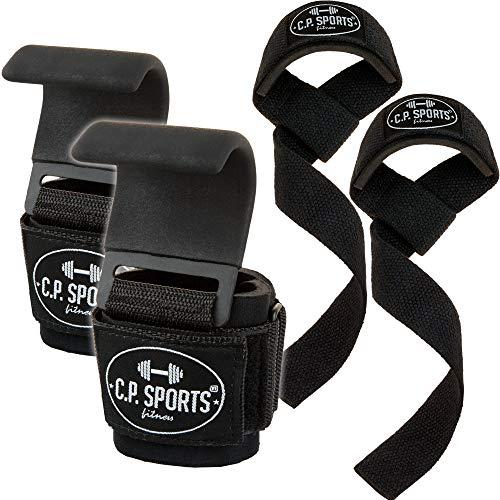 Contenuto della confezione: 1 paio C.P. Ganci per trazioni sportivi Comfort e 1 paio C.P. Cinghie sportive classiche