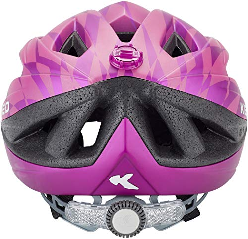 KED Street Jr. Pro Helmet Kinder Violet Kopfumfang S/M | 49-55cm 2020 Fahrradhelm - 5