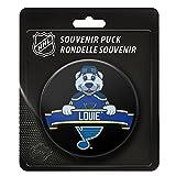 Sherwood St. Louis Blues Team Mascot NHL Souvenir Puck -