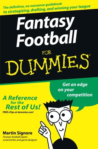 Fantasy Football for Dummies (American Football) (For Dummies Series)