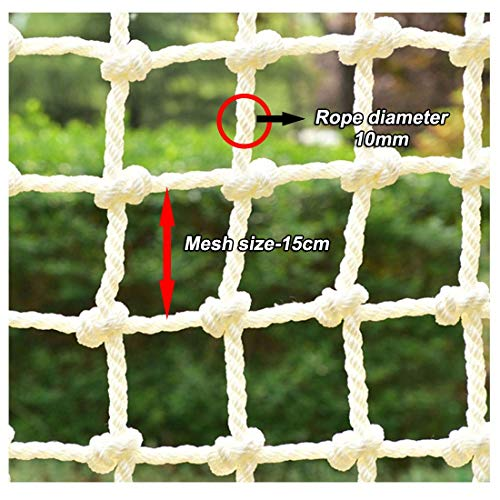 Review HUANPIN Climbing Frame Net for Kids | Balcony Banister Stair Safety | Rope Ladder Protection ...