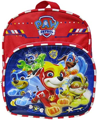 Nickelodeon Paw Patrol Mighty Pups 10 Mini Backpack Super Hero Puppies A19001 product image