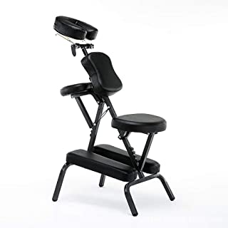 WX&QIANG Massage Chair, Height Adjustable Health Massage Chair, Convenient Folding Beauty, Tattoo Chair Size: 46 * 56 * 12...