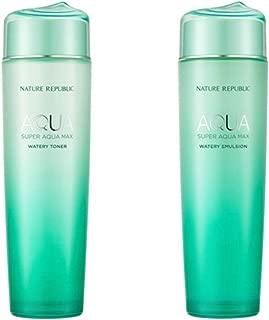 Nature Republic Super Aqua Max Watery Toner + Emulsion