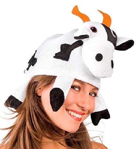 Mondial-Fete - Chapeau de Vache Tissu