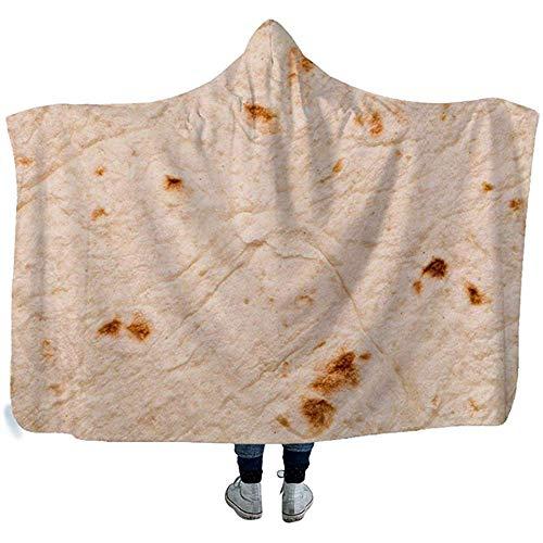 Darlene Ackerman(n) Mexikanischer Keks mit Kapuze Decke für Erwachsene Sherpa Fleece tragbare Decke Poncho Bademäntel Pool Decke