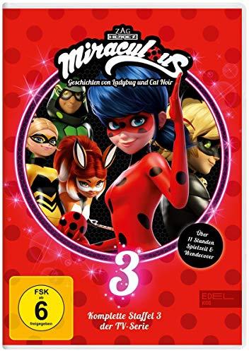 Miraculous - Geschichten von Ladybug & Cat Noir - Die komplette 3. Staffel [3 DVDs]