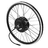 Kit de conversión de bicicleta eléctrica, 36 V 350 W Motor KT900S Pantalla LED 20 pulgadas Rueda E-Bike Kits de conversión (motor delantero)