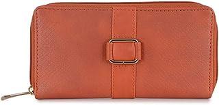 Baggit Women's Clutch (Orange) (Unitsnits 1)