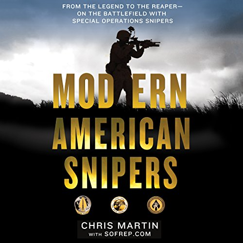 Modern American Snipers audiobook cover art