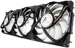 ARCTIC Accelero Xtreme GTX 280 - Ventilador de PC (nVIDIA GeForce GTX 285,280,275,260, Negro, Color Blanco, Aluminio y Cobre, 680 g, 104 x 287 x 54 mm, 1000 RPM)