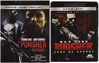 The Punisher / The Punisher: War Zone [4k Ultra HD + Blu-ray] (Bilingual)