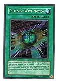 Yu-Gi-Oh Magician's Force Foil Card - Diffusion Wave-Motion Secret Rare - MFC-107