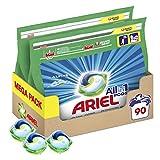Ariel Pods Detergente Lavadora Cápsulas, 90 Lavados (Pack 2 x 45), Fragancia Frescor Los Alpes