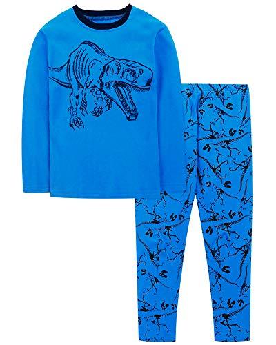 DAUGHTER QUEEN Pijama para Niños 3-4 Años Dos Piezas Pija Niño Ropa para bebés de 1 a 7 años Disfraz Dinosaurio Niño Pijama para Dormir para bebés y niños