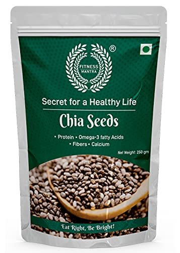 Fitness Mantra Chia Seeds for weight loss, 250gm
