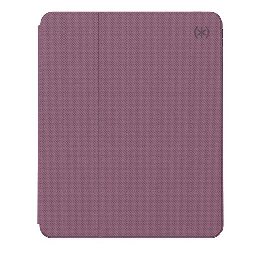 Speck Products Presidio Pro Folio Case, Compatible with iPad Pro 12.9-Inch (2018/2020), Plumberry Purple/Crushed Purple