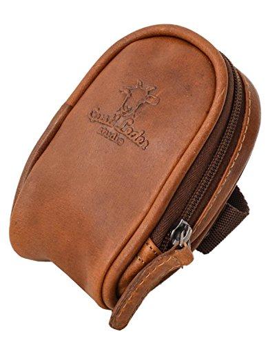 Gusti Bolsa para sillín Cuero - UDO B. Bolso de Herramientas Bolsa de Bicicleta Bolsa de Herramientas marrón Vintage