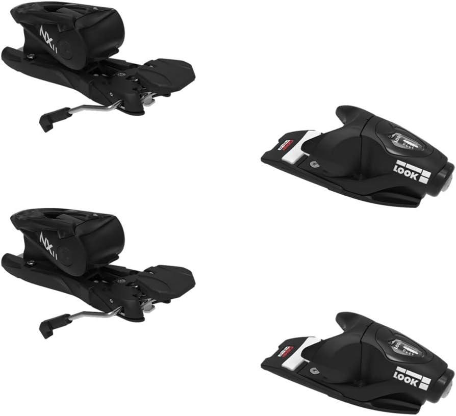 LOOK Arlington Mall NX 11 GW Ski Excellent Black - 100mm Bindings