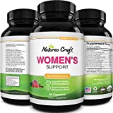 Herbal Complex Menopause Supplements for Women - Natural Hormone Balance for Women Adrenal Support Night Sweats and Menopause Relief - Black Cohosh Menopause Supplement with Resveratrol and Dong Quai