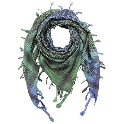 Superfreak Palituch - Tie dye-Batik-bunt - schwarz 02-100x100 cm - Pali Palästinenser Arafat Tuch - 100% Baumwolle
