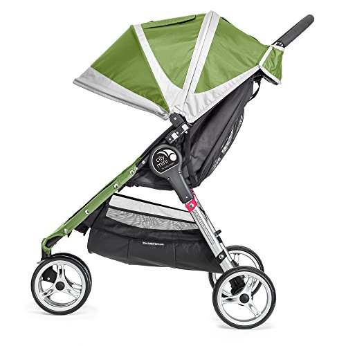 Baby Jogger City Mini 3 - Silla de paseo, color negro/gris
