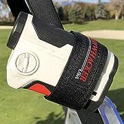 Bushwhacker Magnetic Multi Purpose Mount for Golf Cart Railing - Great for Rangefinder Towels Jackets GPS Attachment Rail Bar Accessory Case Range Finder Strap Easy Stick Holder Hanger