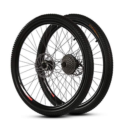 GYJ Scheibenbremsräder Schnellspanner Naben & Reifen Laufradsatz 700C Road, Pass EN Qualitätsstandardprüfung Hohe Qualität, einfache Montage,20in