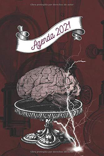 Agenda en Español 2021: Nueva Agenda con espacio para tu lista de tareas y notas para cada hora del día.