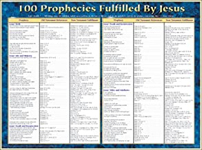 100 Prophecies Fulfilled by Jesus Chart