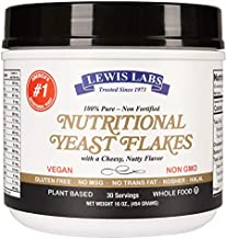 Lewis Labs Variation nutritional and brewers (Nutritional Yeast, 1 Pack)