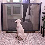 JAUTO Treppenschutzgitter | Türschutzgitter | Für Türen & Treppen von 110cm | Höhe 70 cm | Türrollo Treppenrollo Türschutzrollo | für Babys, Hunde & Katzen