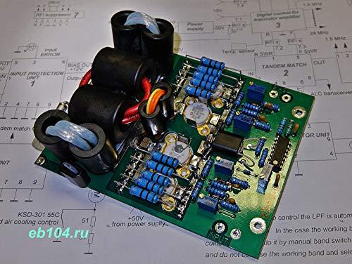 FidgetKute HF Endstufe SSB CW 1000W mit Transistoren MOSFET