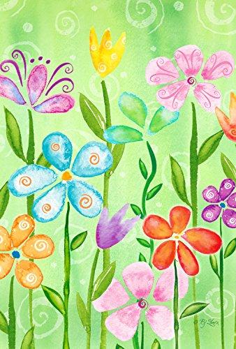 Toland Home Garden Spring Blooms Gartenflagge Garden Flag (12.5