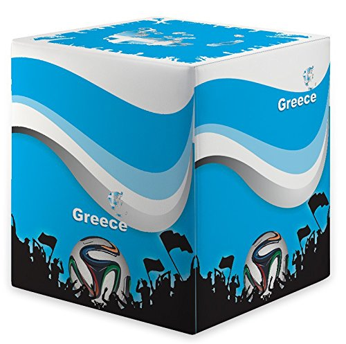 Kaikoon Pouf Cube WM Grèce Dimensions : 35 cm X 35 cm x 42 cm