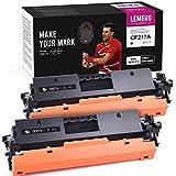 LEMERO UEXPECT Cartuchos de tóner compatibles 17A para HP 17A CF217A para HP Laserjet Pro M102a M102w MFP M103a M130fn M130fw M130nw (2 unidades, con chip)