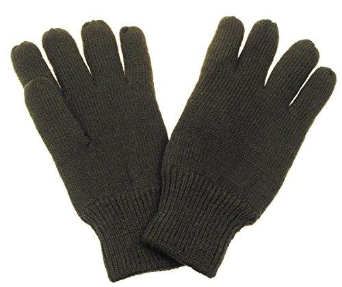 MFH Gebreide vingerhandschoenen, thermische voering, olijf