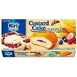 ロッテ カスタードケーキ(クリームチーズケーキ~ベリー仕立て~) 6個 ×5箱